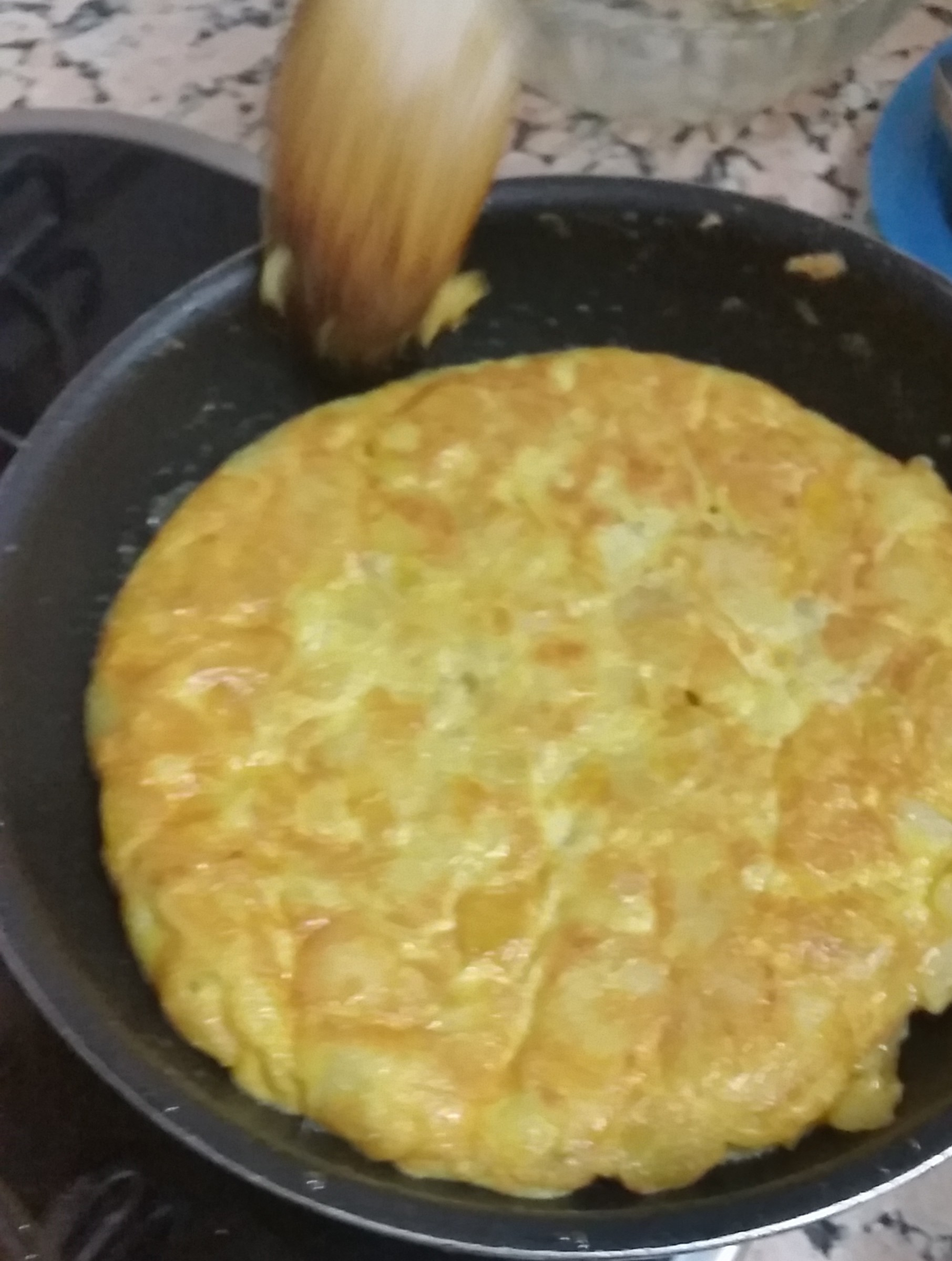 Spanish cooking lesson – Spanish Tortilla