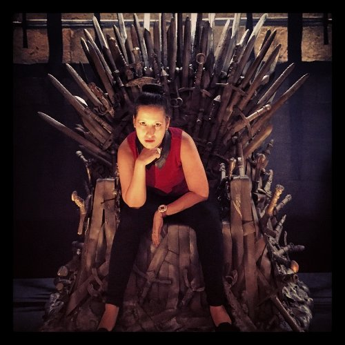 I will take what's mine with fire and blood....