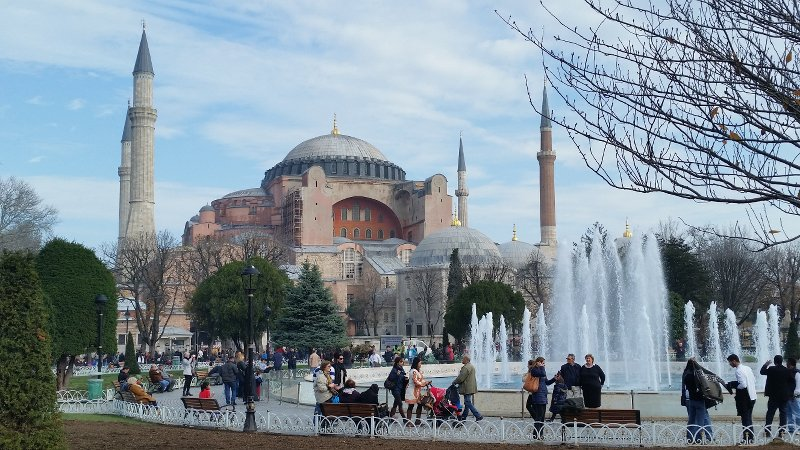 The Hagia Sophia on a good day