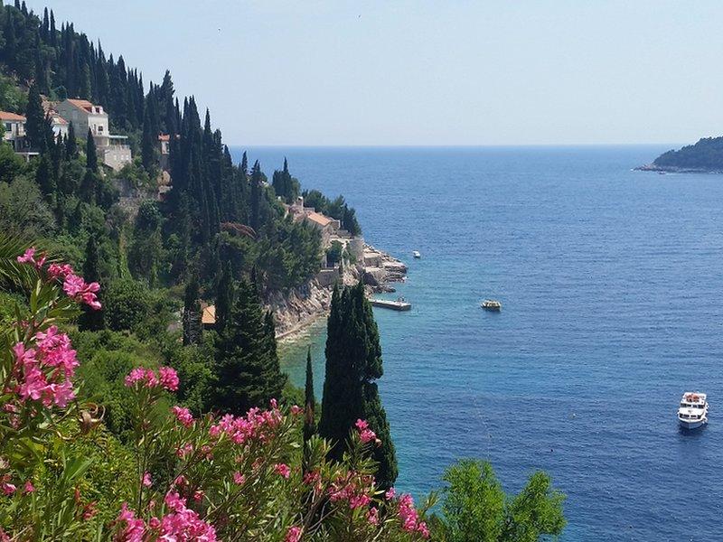 A stunning coastline...