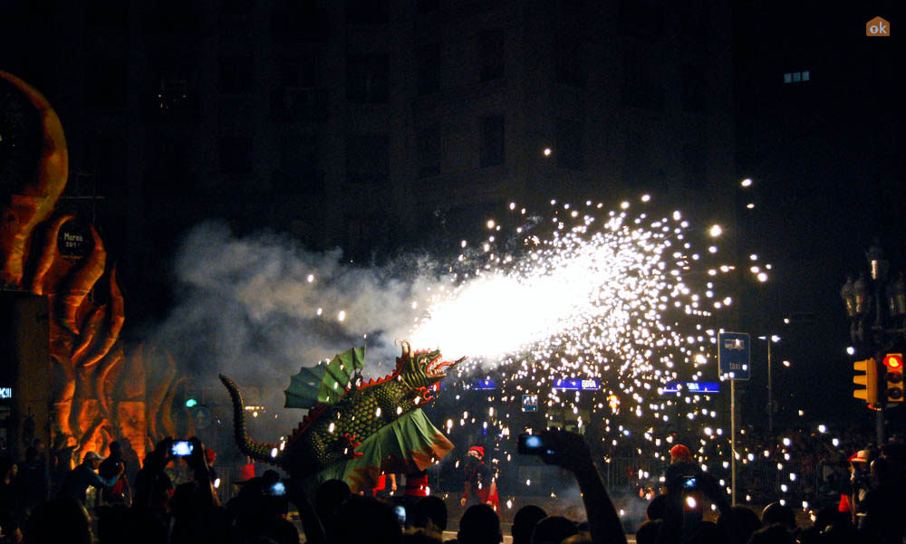 Correfoc via Flickr by OK Apartment (CC BY 2.0)