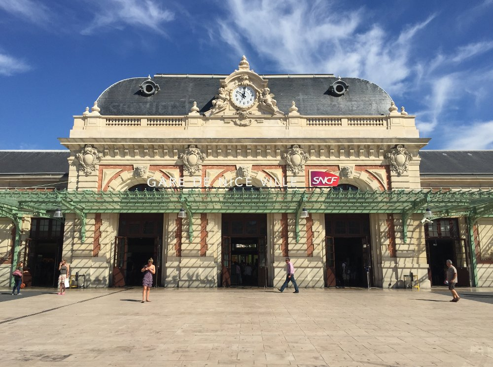 Gare de Nice station is one of the loveliest buildings in the city