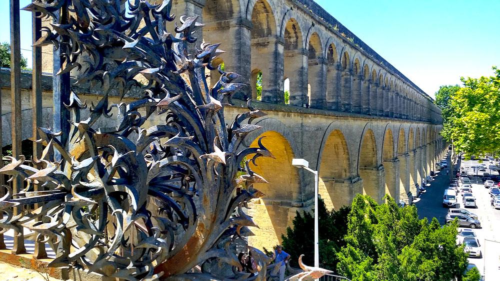 Saint Clement Aqueduct Montpellier