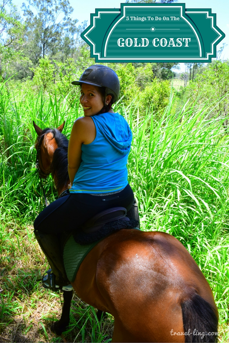 5 Things to do on the Gold Coast - Horse Riding