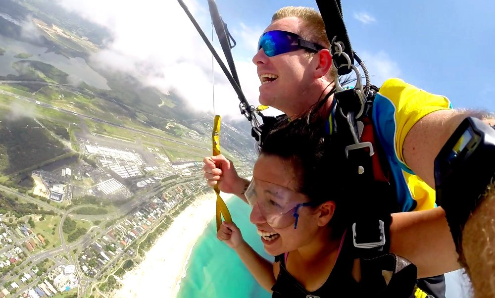 Despite my pre-nerves, Skydiving is one of the best experiences I've had