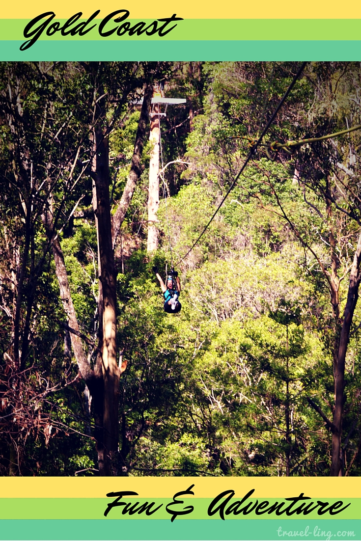 Ziplining fun and adventure