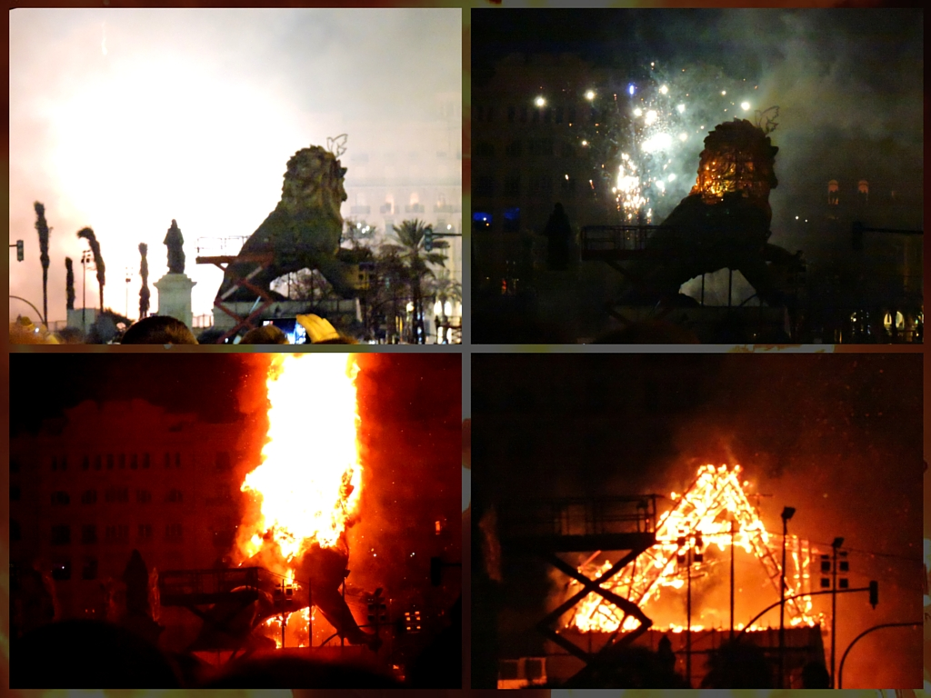The story of the falla and the cremá