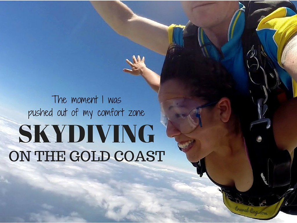 The Moment I Was Pushed Out of My Comfort Zone: Skydiving
