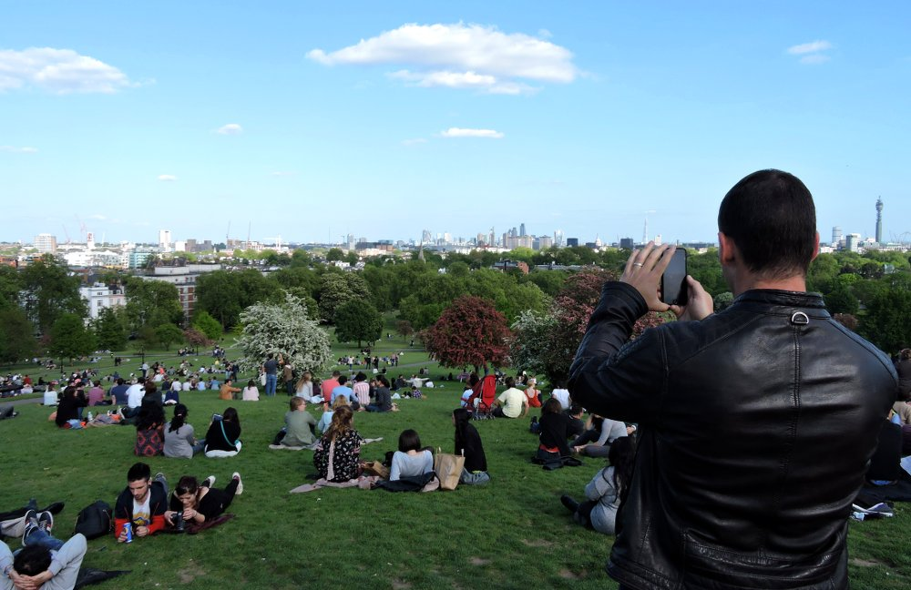 For lovely views of London, you can't go past Primrose Hill
