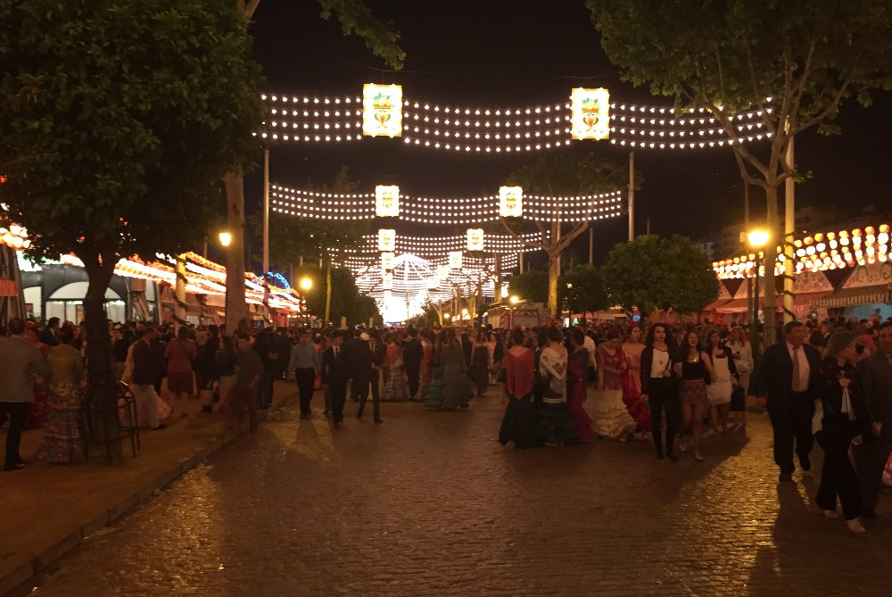 Feria de abril is THE place to be all week