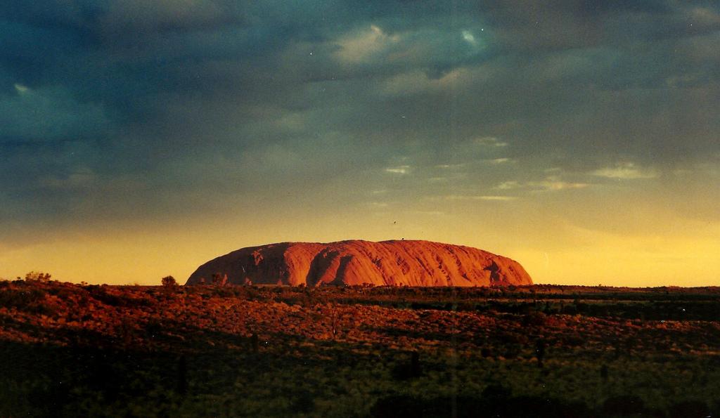 Uluru by Joanna Penn