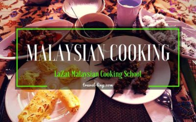 Malaysian Cooking at LaZat & Kari Ayam Recipe