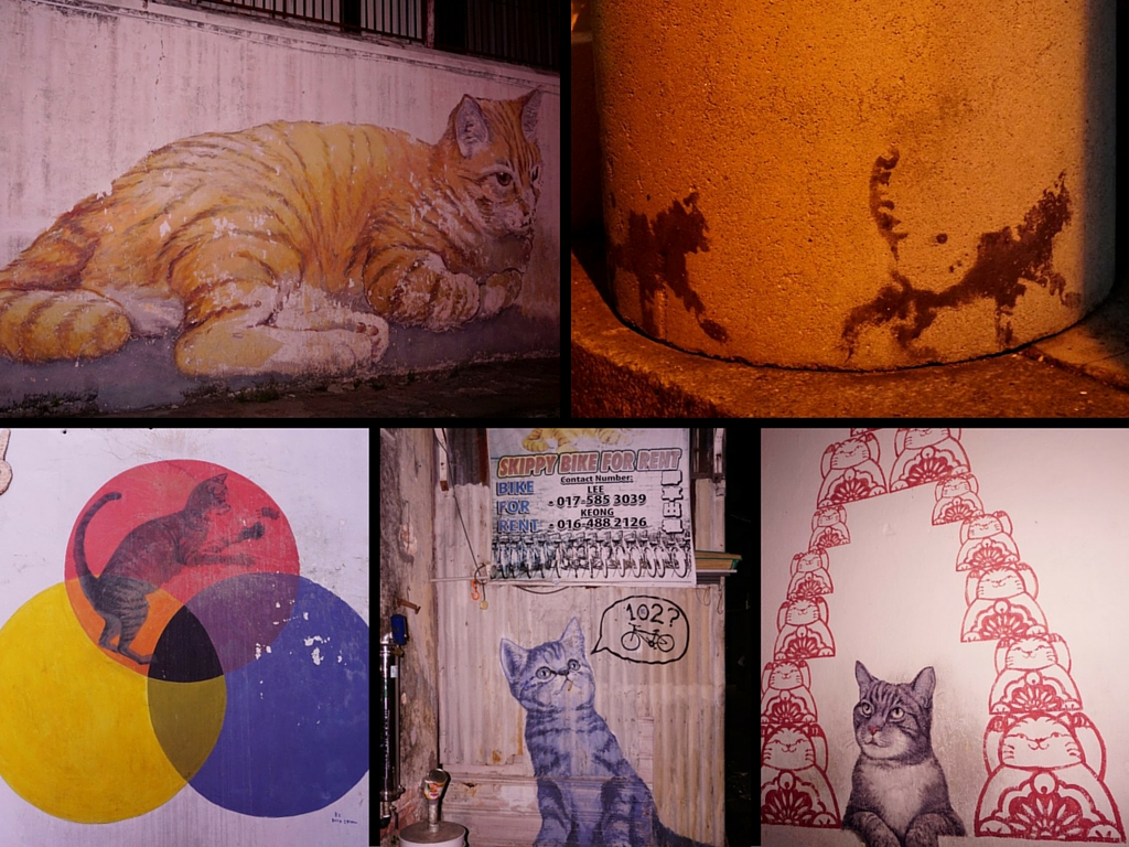 Cat and art lovers unite in George Town, Penang