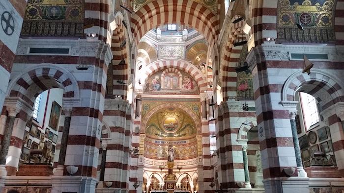 Marseille Notre Dame de la Garde interior