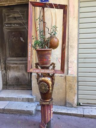 Marseille Panier art
