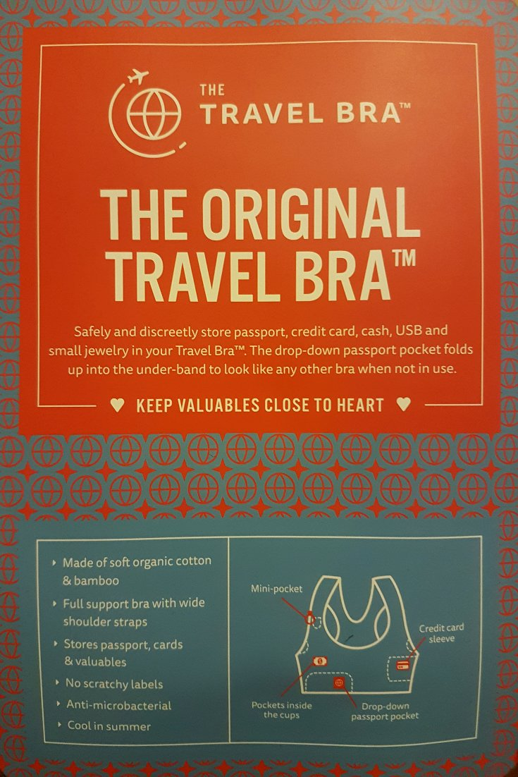 Features of the Original Travel Bra