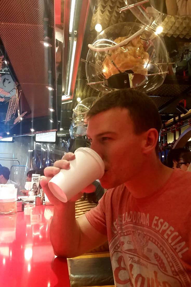 Street XO Madrid cocktails