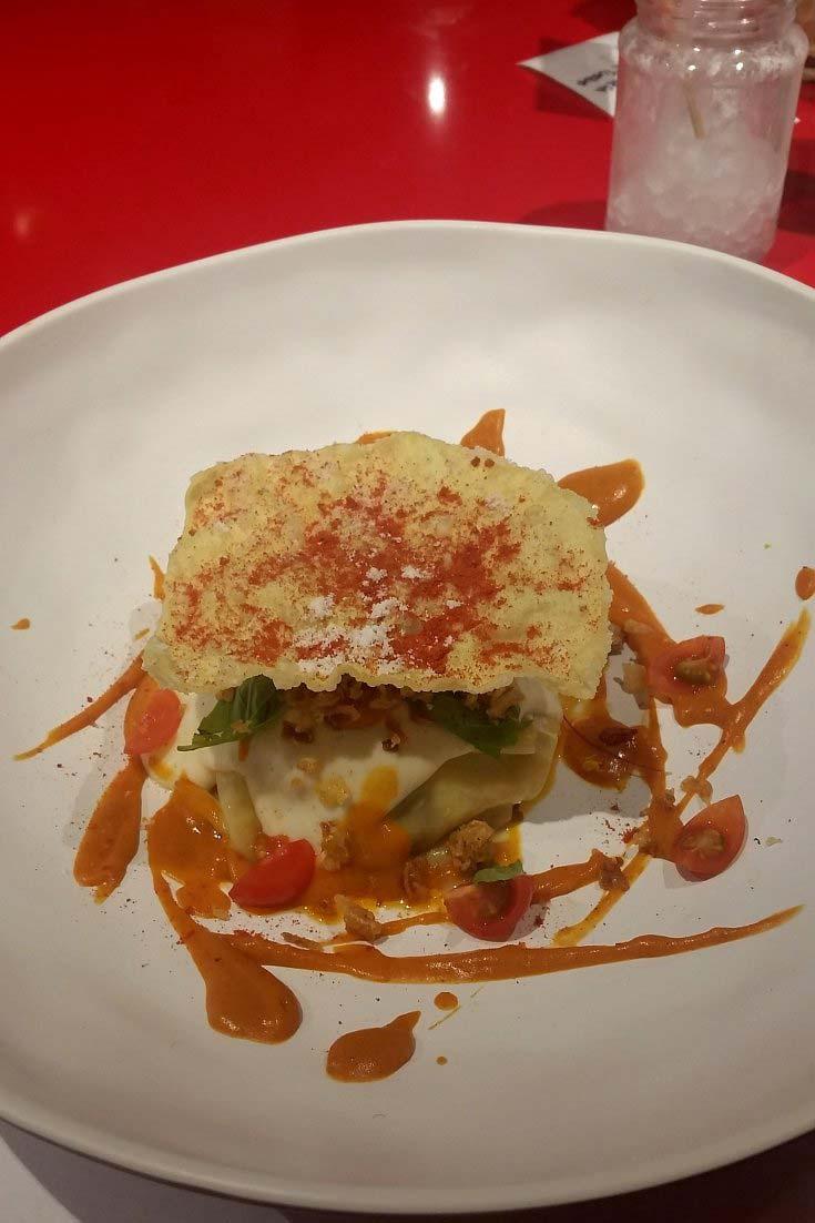 Korean lasagna