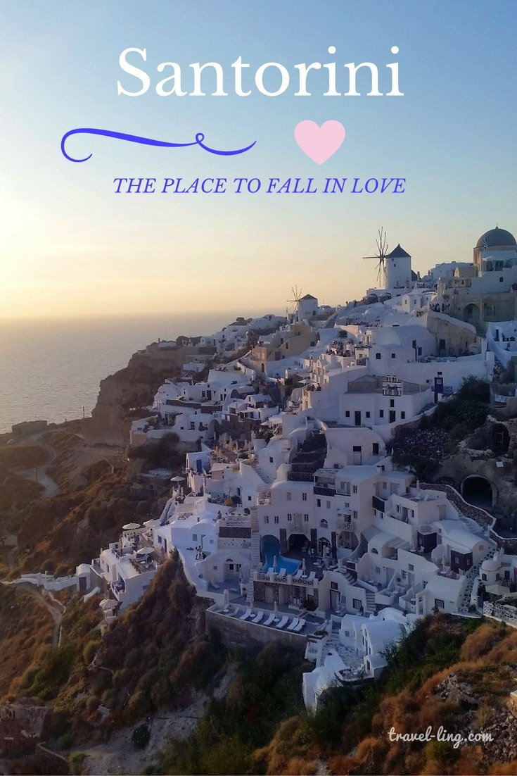 Santorini is the place to fall in love