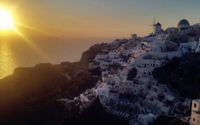 Getting the Perfect Photo in Santorini
