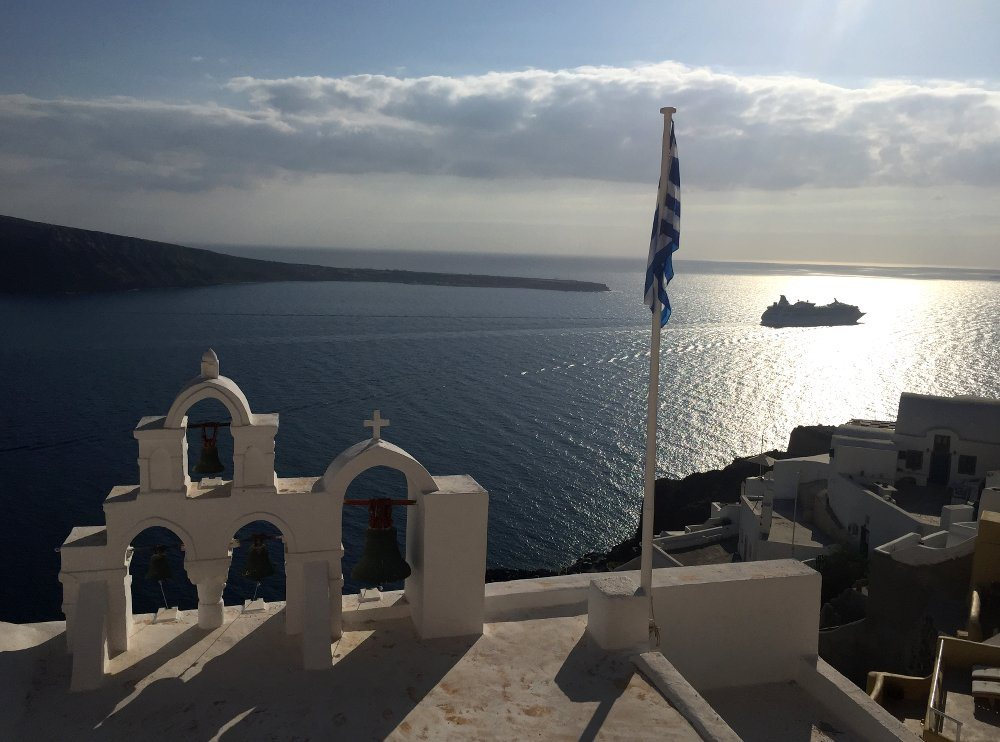 Santorini offers plenty of pretty photo opportunities