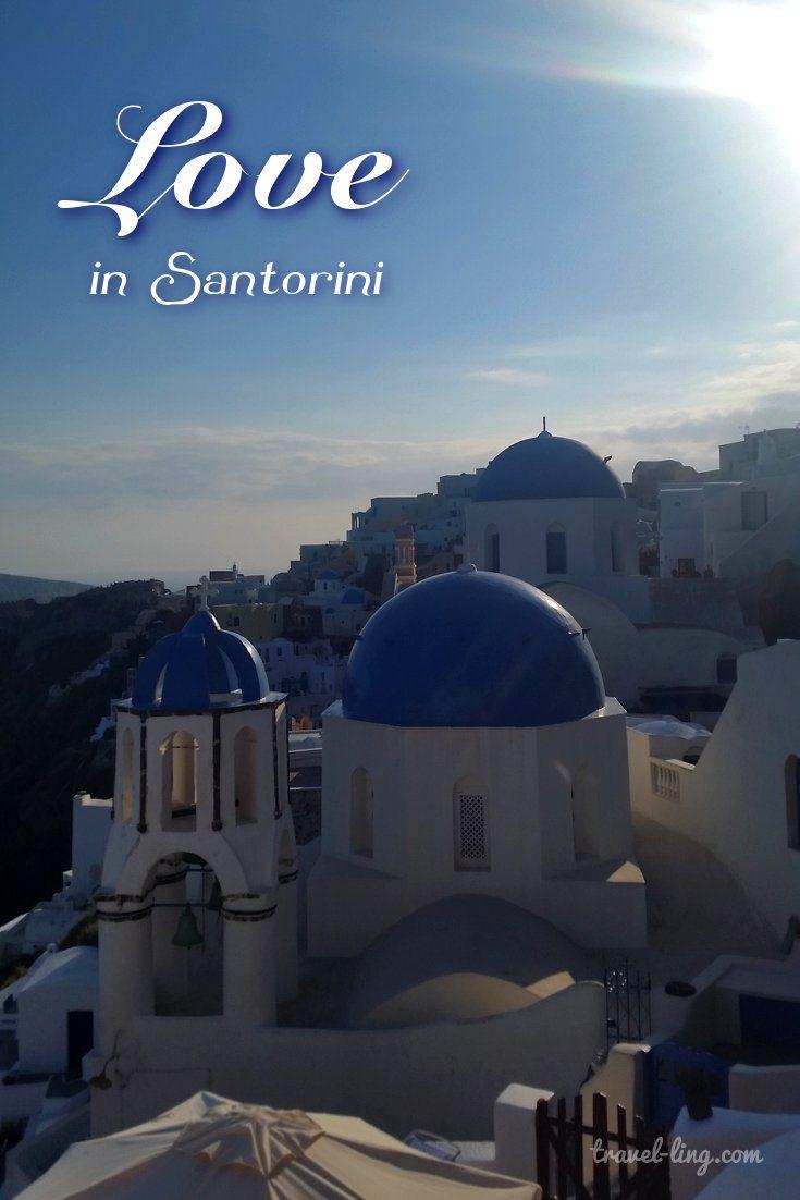 Love in Santorini