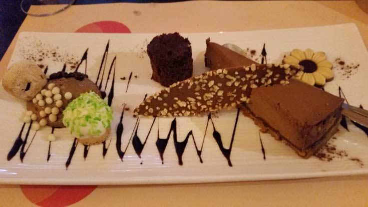 Budget food at #Food in Bruges