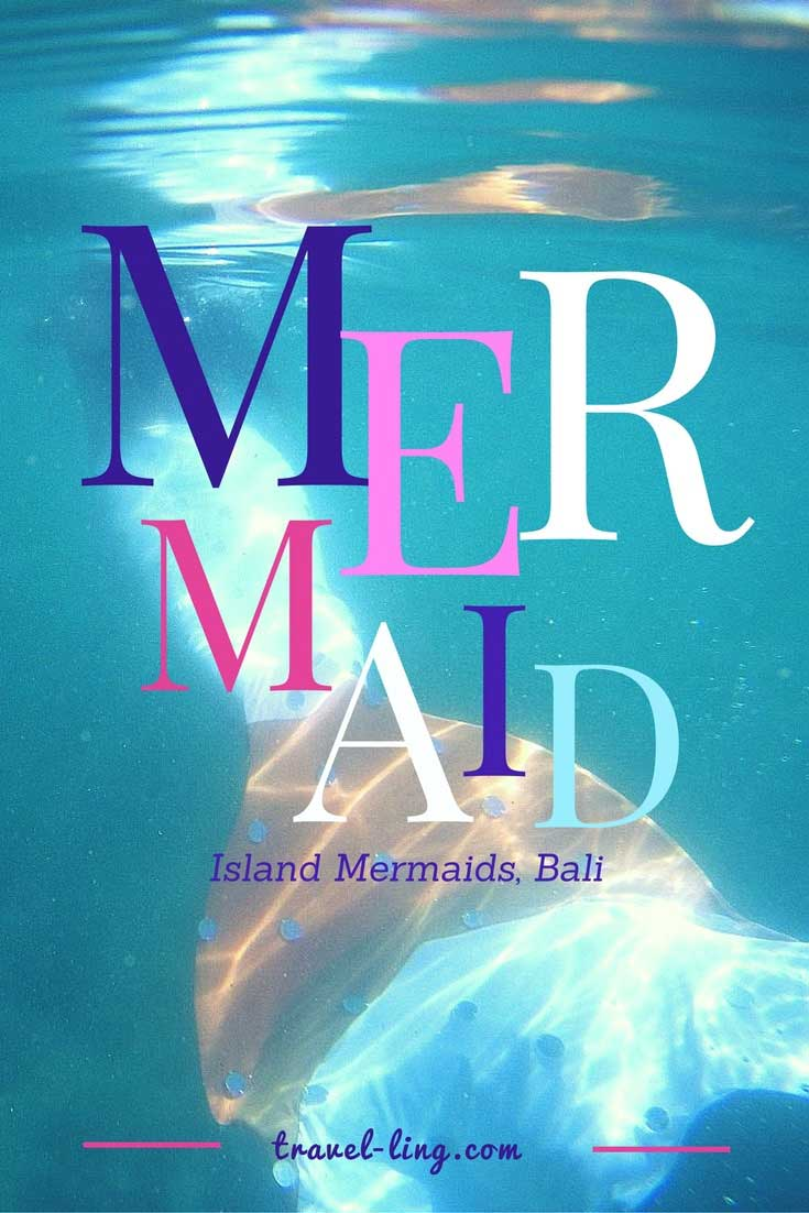 Mermaid school, Bali