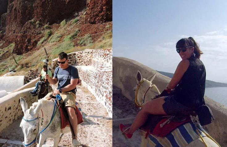 Prepare for laughs on a donkey ride
