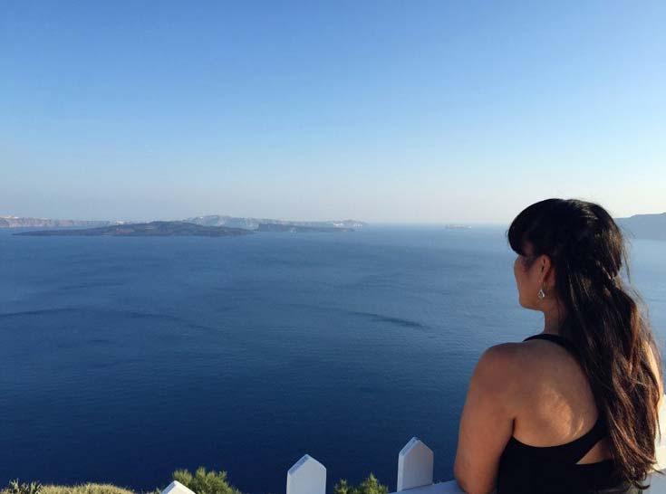 The gorgeous Santorini Caldera