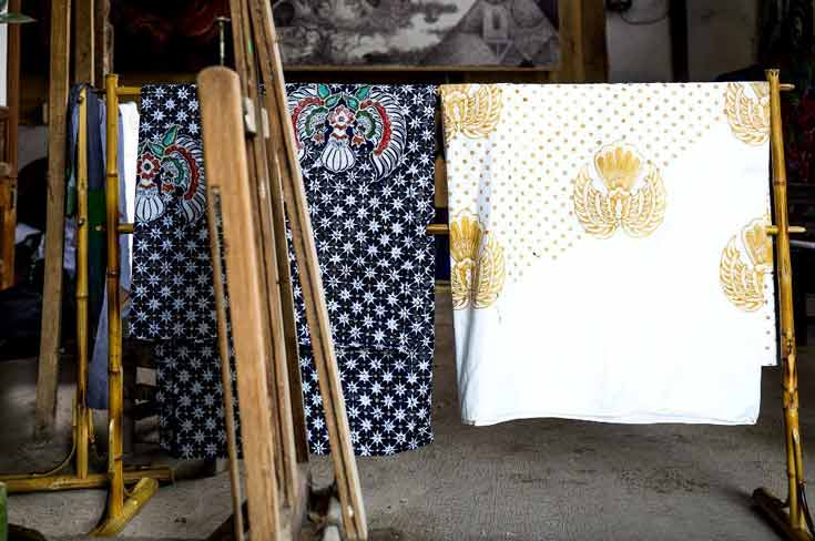 Batik in Yogyakarta Indonesia