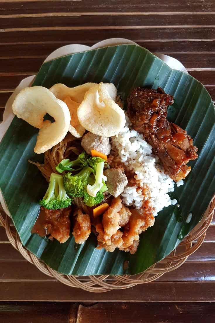 Delicious food in Yogyakarta Indonesia