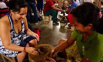Klipoh village pottery making in Yogyakarta Indonesia