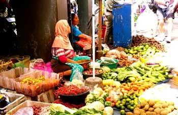 Legi Market in Yogyakarta