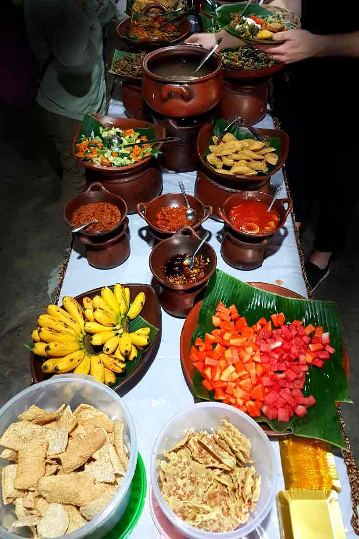 Food in Yogyakarta Indonesia