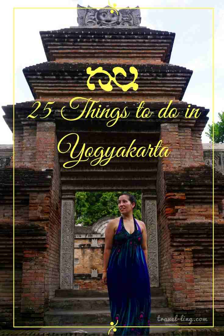 25 things to do in Yogyakarta Indonesia