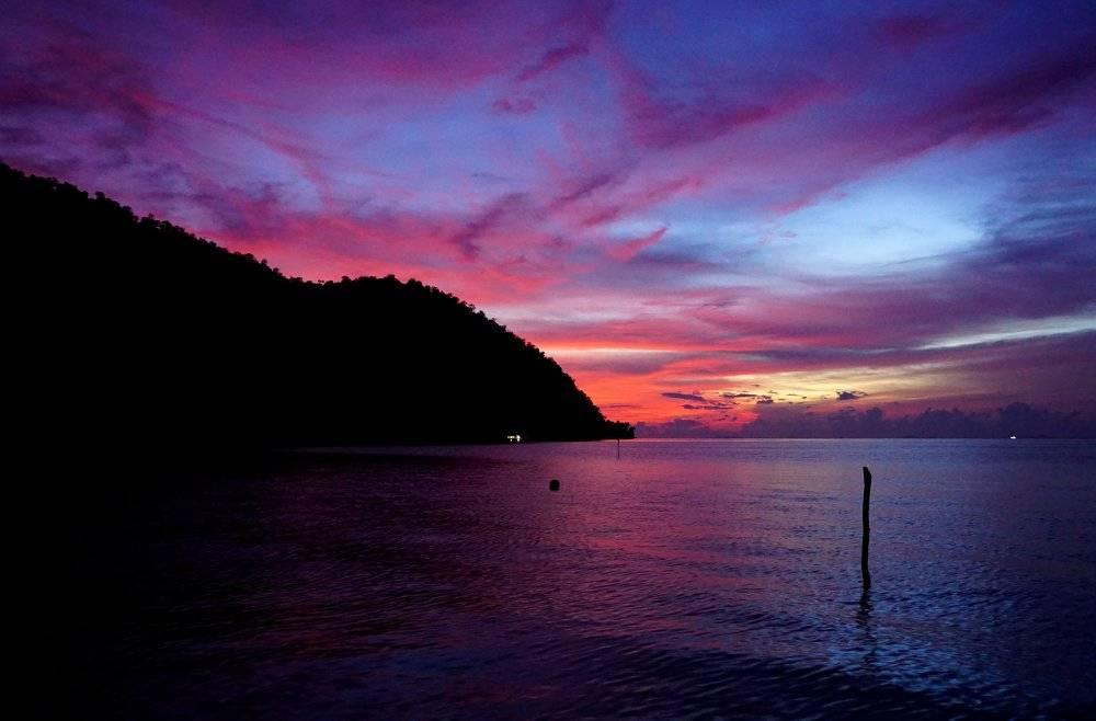 Raja Ampat sunsets