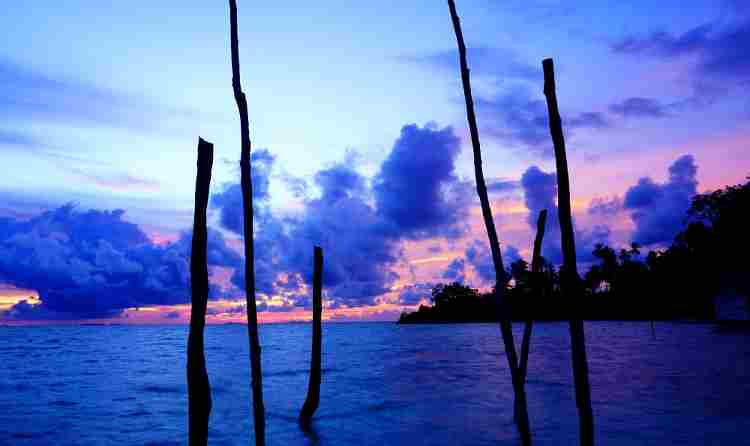 Mesmerising sunsets of Raja Ampat