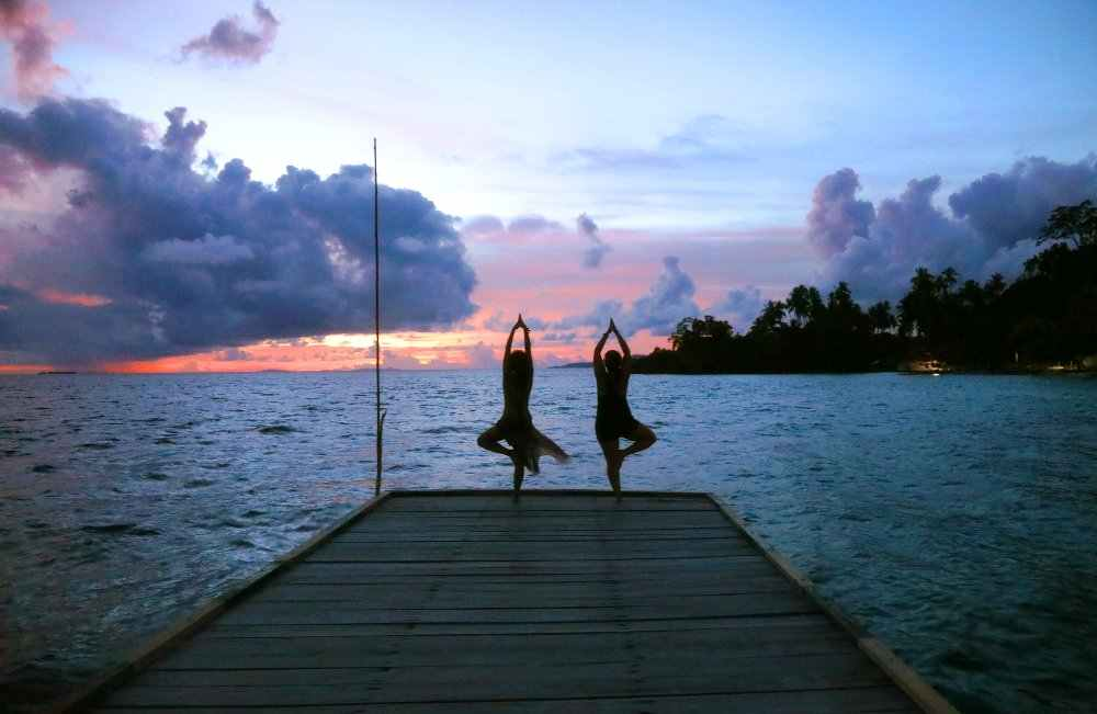 Yoga in Raja Ampat
