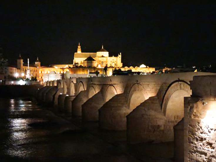 The Puente Romano in Cordoba, Spain