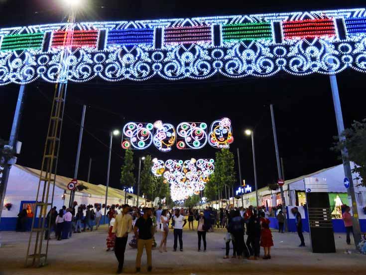 Feria in Cordoba, Spain