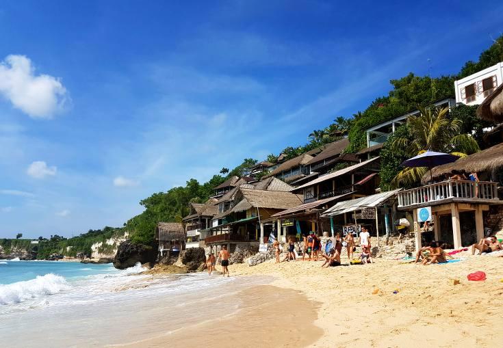 Bingin Beach, Uluwatu - no bogans here