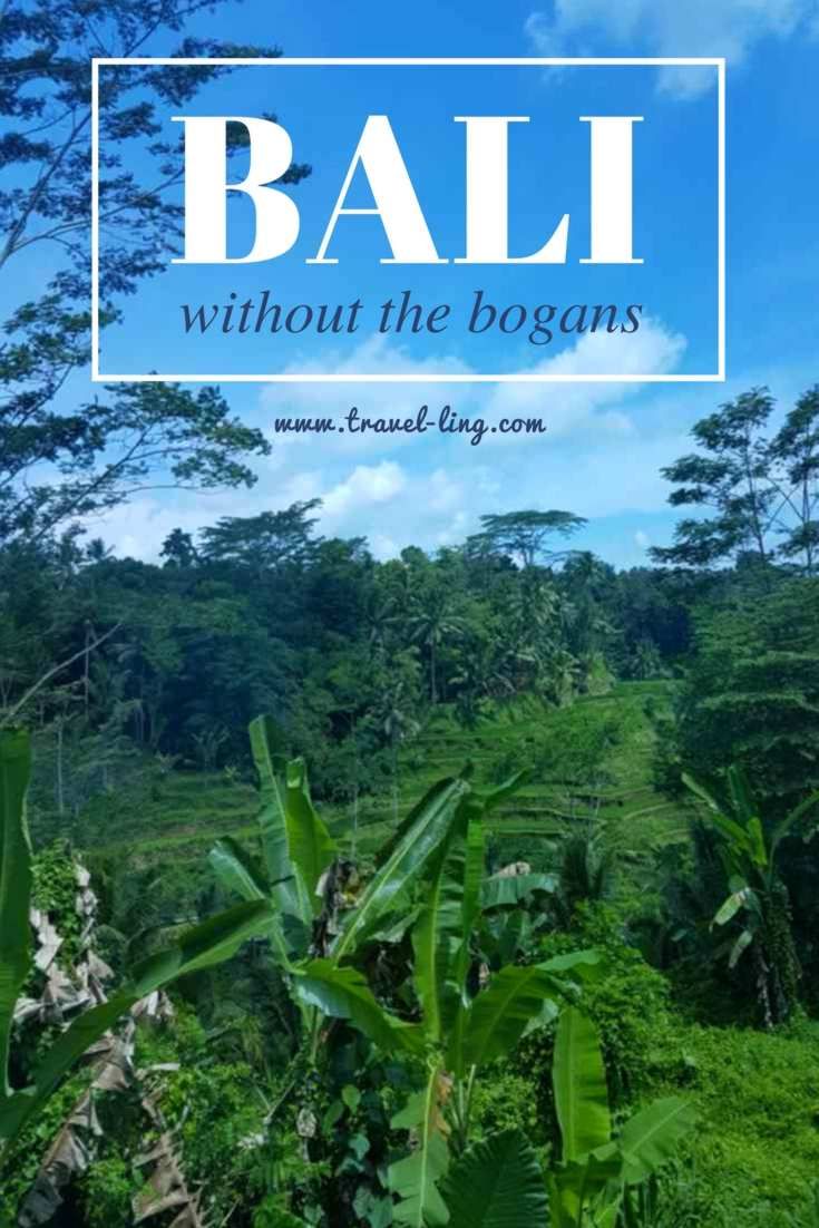 Bali without the bogans