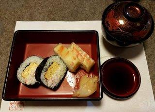 Crab Sushi at Kani Douraku
