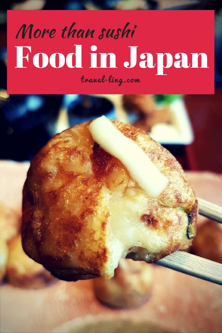 Takoyaki - Japanese street food