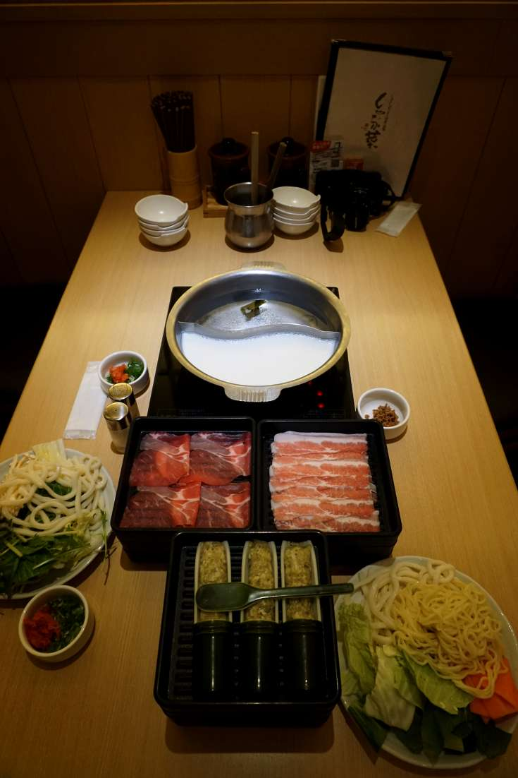 Popular food in Japan - Shabu Shabu