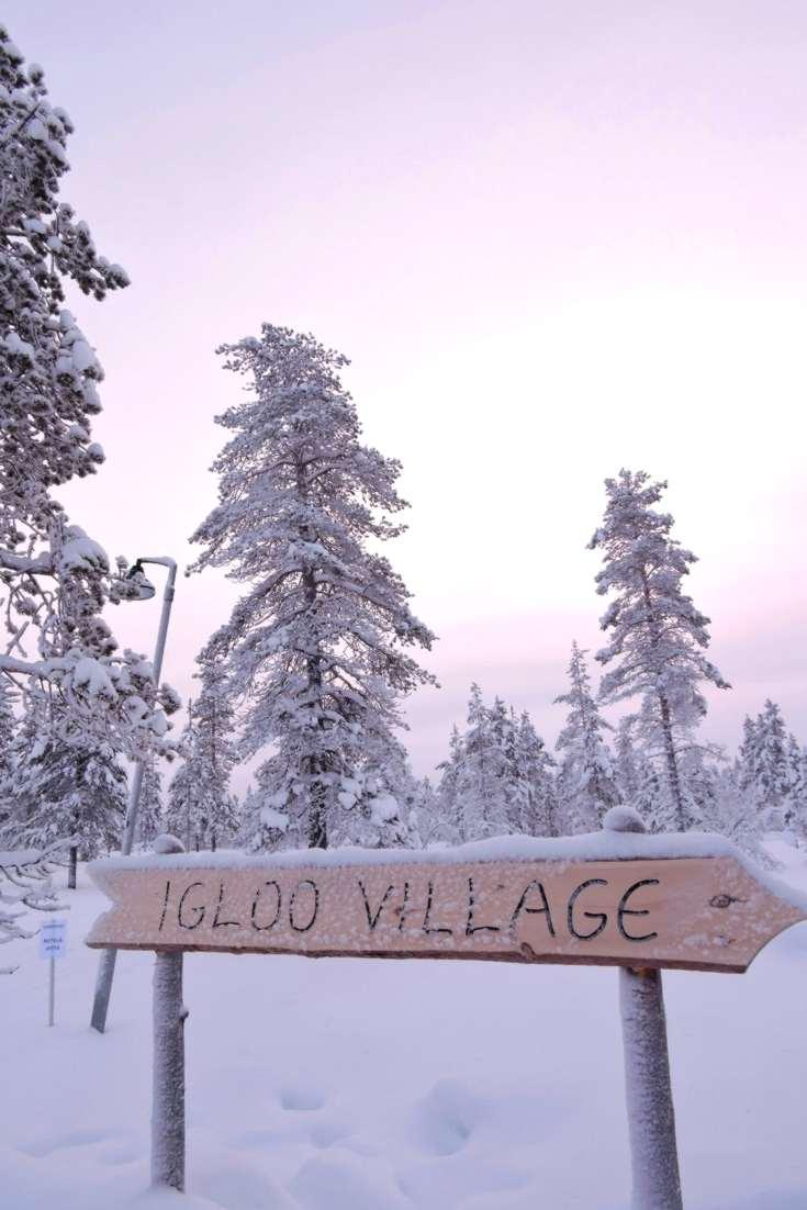 Igloo Village, Kakslauttanen Finland