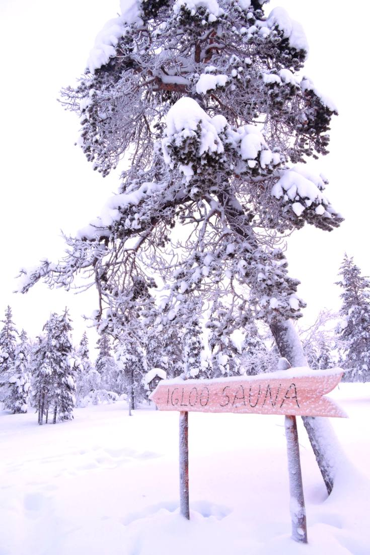 Igloo Sauna, Kakslauttanen