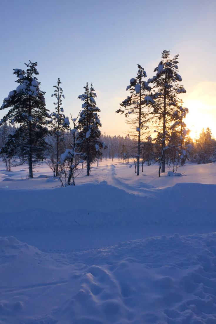 Winter wonderland, Lapland Finland