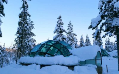 Glass Igloos of Finland
